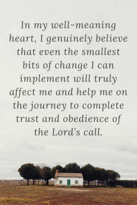 in-my-well-meaning-heart-i-genuinely-believe-that-even-the-smallest-bits-of-change-i-can-implement-will-truly-affect-us-and-help-me-on-the-journey-to-complete-trust-and-obedience-of-the-lord