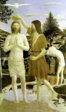 The Baptism of Christ (Piero della Francesca, 1449)