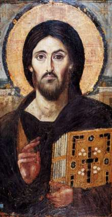 Christ Pantocrator (Anonymous, c. 6th century)