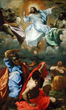 Transfiguration of Jesus (Carracci, 1594)