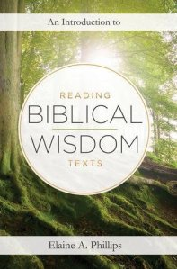 Q&A with the author of An Introduction to Reading Biblical Wisdom Texts